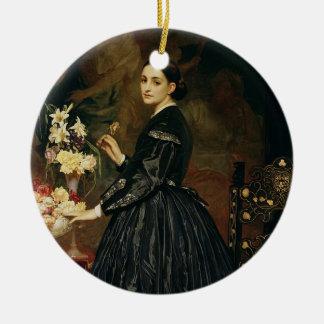 Mrs James Guthrie, c.1864-5 (oil on canvas) Ceramic Ornament