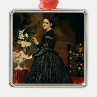 Mrs James Guthrie, c.1864-5 (oil on canvas) Metal Ornament