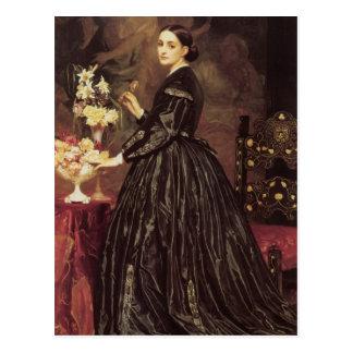 Mrs James Guthrie portrait Postcard