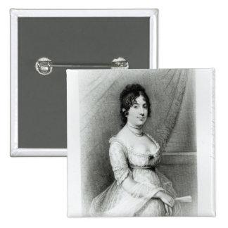 Mrs James Madison, Dolley Payne , c.1804-55 Pinback Button