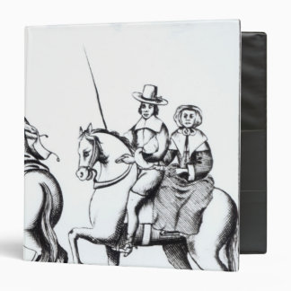 Mrs Jane Lane riding with King Charles II Binders