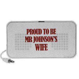 Mrs johnson designs portable speaker