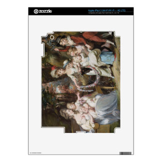 Mrs Justinian Casamajor and Eight of her Children, iPad 3 Decal