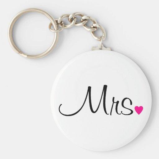 Mrs Key Chain