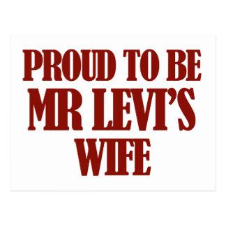 Mrs levi designs postcard