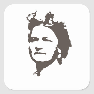 Mrs Lincoln Square Sticker