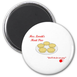 Mrs Lovetts Meat Pies Magnet