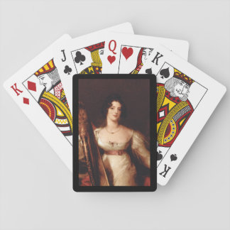 Mrs. Lownds Stone', Thomas_Portraits Playing Cards