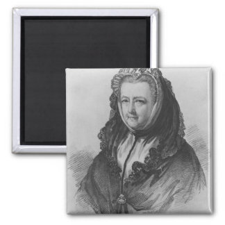 Mrs Mary Delany 2 Inch Square Magnet