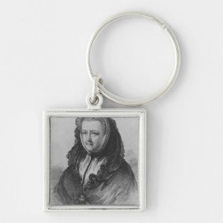 Mrs Mary Delany Keychain
