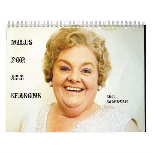 Mrs Mills' 2011 Calendar