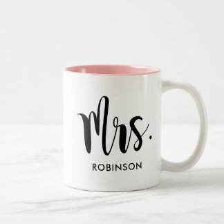Mrs. Monogram Mug | Married