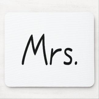 Mrs. Mouse Pad