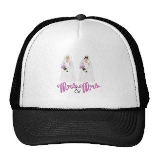 Mrs.& Mrs. Trucker Hat