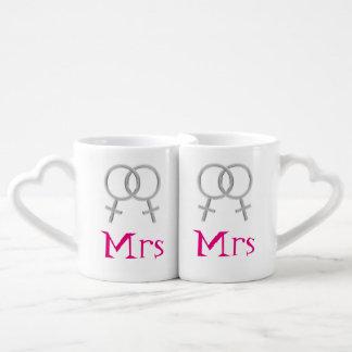 Mrs & Mrs Mug