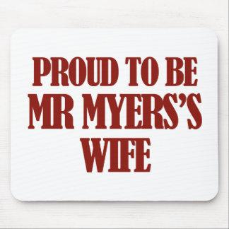 Mrs MYERS designs Mousepad
