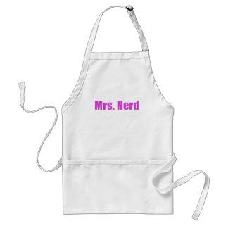 Mrs Nerd Adult Apron