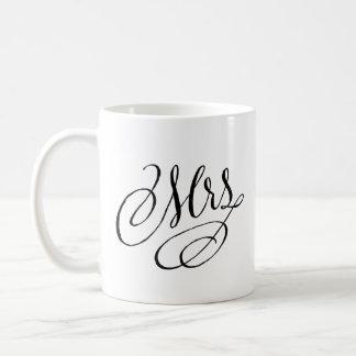 Mrs. new Bride mug Bridal Shower gift