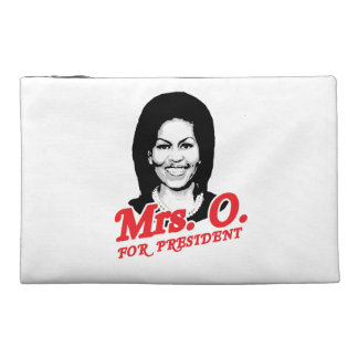MRS O FOR PRESIDENT - png Travel Accessory Bag