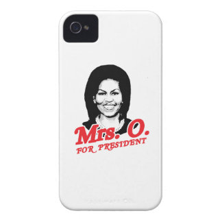 MRS. O. FOR PRESIDENT -.png iPhone 4 Case