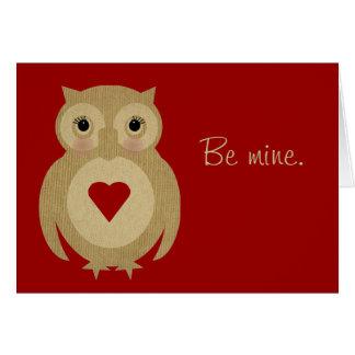 Mrs. Ollie Valentine Card