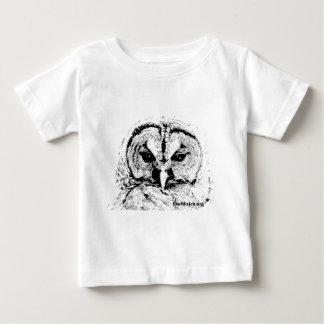 Mrs Owl Mar2015 - Black on White Tshirts