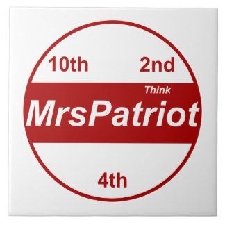 Mrs Patriot, the tile