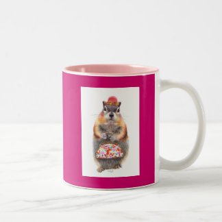 Mrs Peabody Two-Tone Coffee Mug
