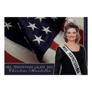 Mrs. Pennsylvania Galaxy 2002 - 1 Poster
