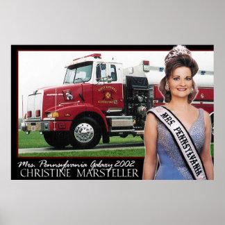 Mrs. Pennsylvania Galaxy 2002 - Firetruck-2 Poster