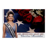 Mrs. Pennsylvania Galaxy 2002 - lt. Blue Print