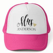 Mrs. Personalized Trucker Hat