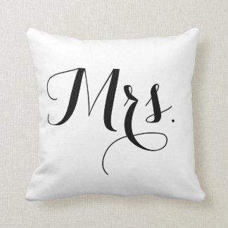 Mrs.Pillow Throw Pillow