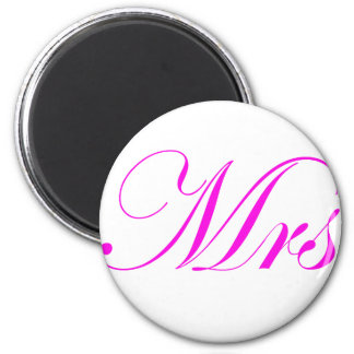 Mrs-Pink Magnets
