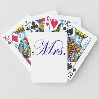 Mrs. Card Decks