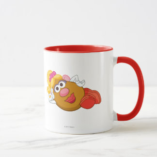 Mrs. Potato Head Laying Down Mug