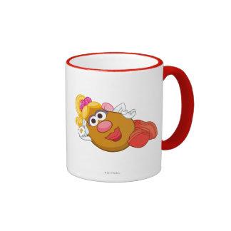 Mrs. Potato Head Laying Down Ringer Mug