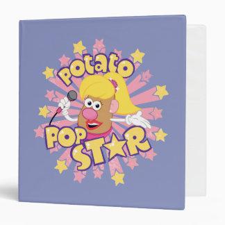 Mrs. Potato Head - Pop Star Binder