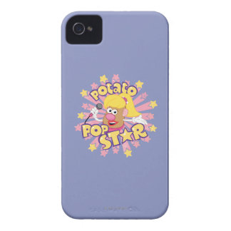 Mrs. Potato Head - Pop Star iPhone 4 Case