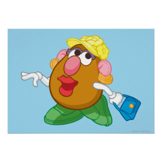 Mrs. Potato Head Poster