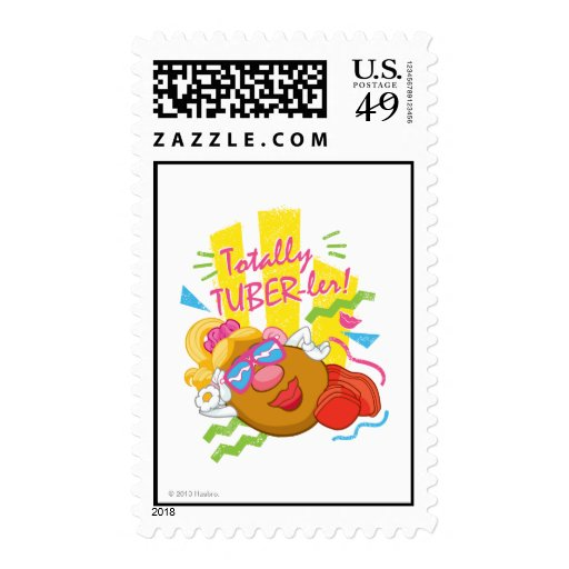 Mrs. Potato Head -  Totally TUBER-ler! Stamp