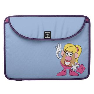 Mrs. Potato Head Waving Sleeve For MacBooks