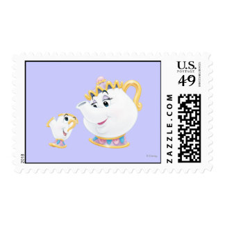 Mrs. Potts and Chip Postage