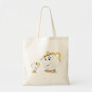 Mrs. Potts and Chip Tote Bag