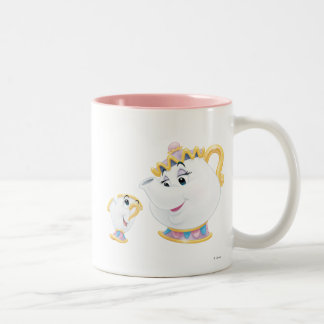 Mrs. Potts and Chip Two-Tone Coffee Mug