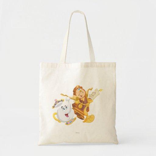 Mrs. Potts & Friends Canvas Bags