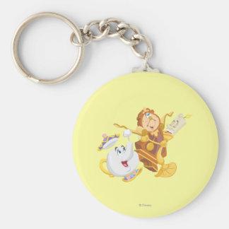 Mrs. Potts & Friends Keychain