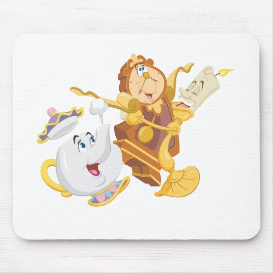 Mrs. Potts & Friends Mouse Pad