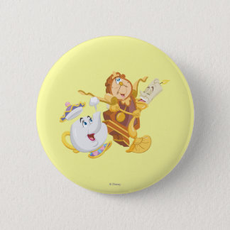 Mrs. Potts & Friends Pinback Button