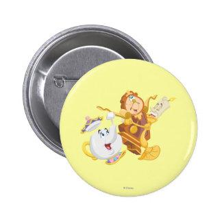Mrs. Potts & Friends Pinback Button